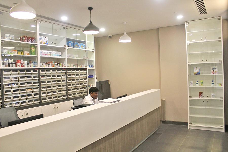 pharmacy at CK Birla Hospital, Multispeciality hospital in Gurgaon, best hospital in Gurgaon, maternity hospital in gurgaon