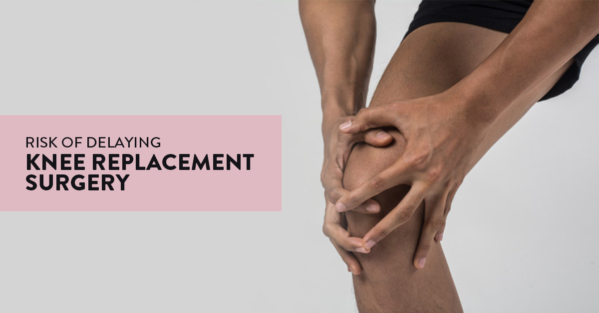 Knee replacement surgery, arthroplasty of the knee