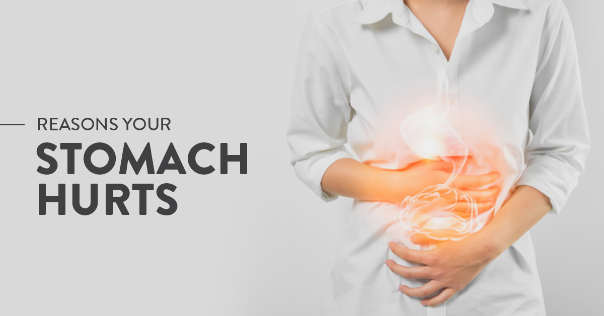 Causes of stomach ache after eating
