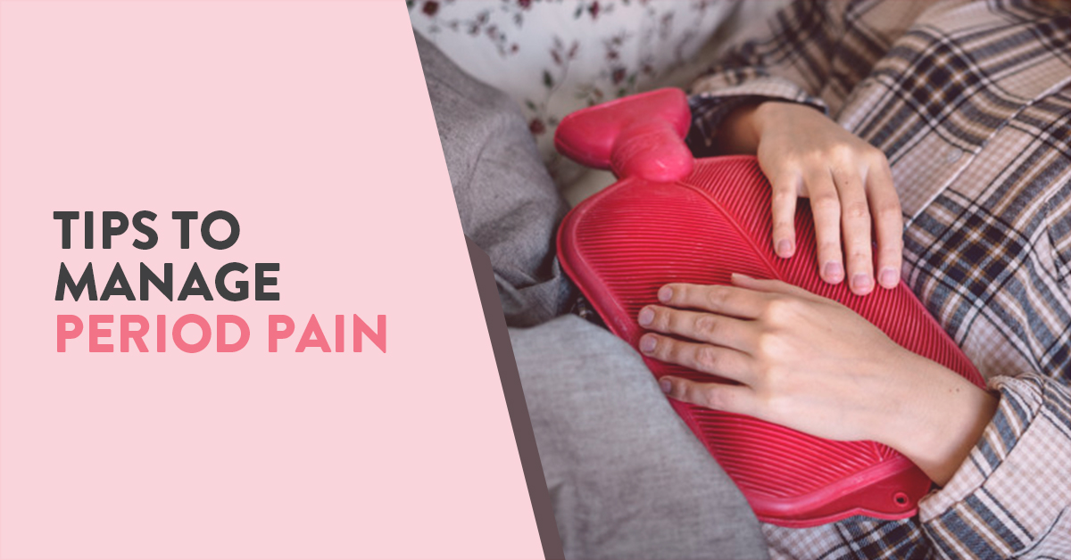 What causes painful periods and how can you reduce the pain?