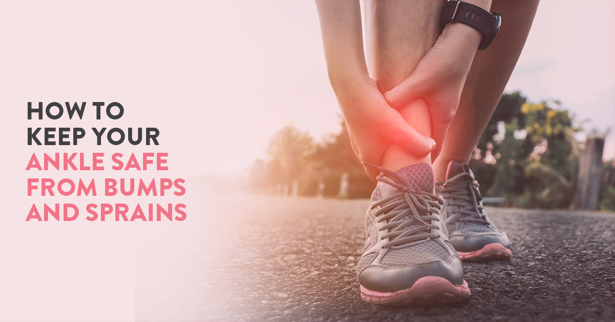 Tips for faster recovery from sprained ankle